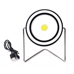 RY-T912 Foco LED redondo recargable en energia solar 10 W USB