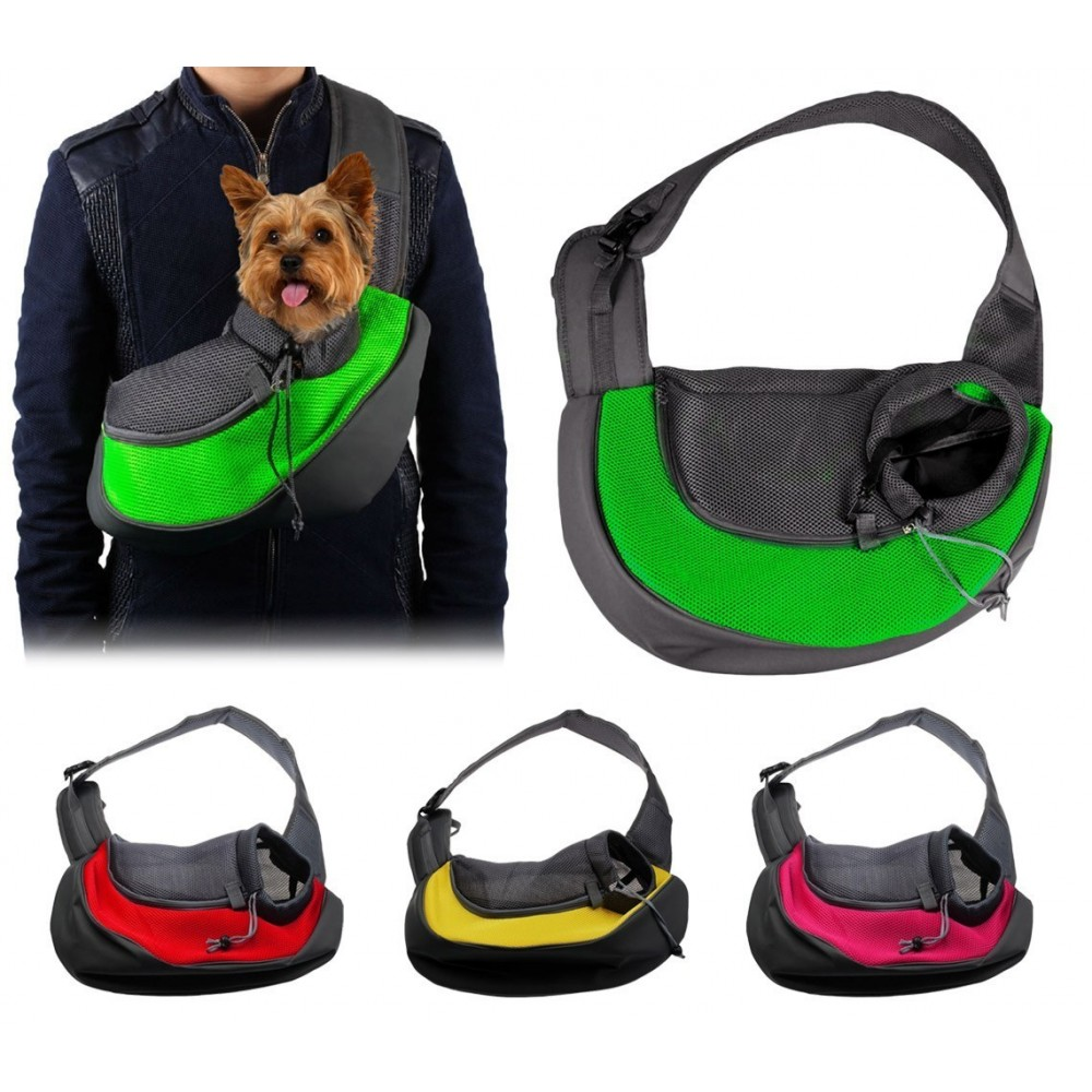 390205 Transportín de hombro para perros pequeños y cachorros