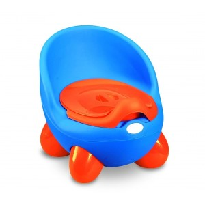 363324 Orinal para niños POTTY BABY TOILET práctico seguro y cómodo con tapa